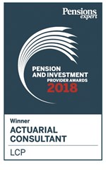 PIPA Actuarial Consultant of the year 2018