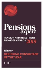 Derisking Consultant of the Year