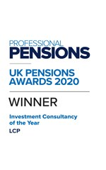 Professional Pensions Investment Consultancy of the Year 2020