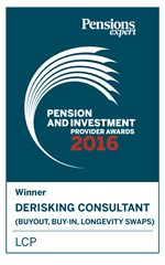 PIPA de risking consultant of the year 2016